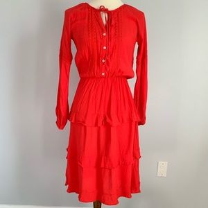 Anthropologie Sunday In Brooklyn Tiered Dress